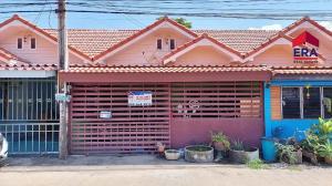 ขายทาวน์เฮ้าส์/ทาวน์โฮมพัทยา บางแสน ชลบุรี : L#95532 ขายทาวน์เฮ้่าส์ชั้นเดียว หมู่บ้านปริณดา เนื้อที่ 37.5 ตร.ว