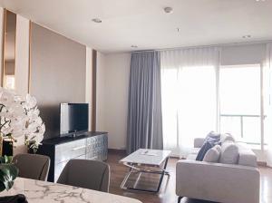 For RentCondoWitthayu,Ploenchit  ,Langsuan : Condo for rent The Address Chidlom Type 2 bedroom 2 bathroom Size 80 sq.m. Floor 19