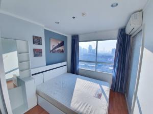 For RentCondoRama9, RCA, Petchaburi : Rent Lumpini Park Rama 9, Building B, city view, 23rd floor, room size 26.5 sq.m., 1 bedroom, 1 bathroom, price 9000