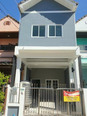 For SaleTownhouseBangbuathong, Sainoi : โปรโมชั่นลดแรง!!! ขายบ้านบุษบาวิลล์ ท่าอิฐ 21ตร.วา 3นอน รีโนเวทสวย 1.85ล.บ. ลดเหลือ1.75ล.บ.เท่านั้น ฟรีค่าโอน
