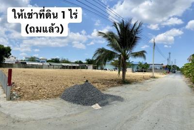 For RentLandNakhon Pathom, Phutthamonthon, Salaya : Land for rent 1 rai, Liap Khlong Bang Phrom Road.