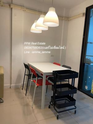 For RentTownhouseKaset Nawamin,Ladplakao : Townhome for rent 3 floors @ Kaset Nawamin - Lat Pla Khao very high security Beautiful house, only 25,000 / month (if ready to rent, negotiable)