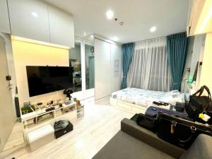 For SaleCondoBangna, Lasalle, Bearing : M3545-Condo for sale, Ideo Mobi Sukhumvit Eastgate, near BTS Bangna, fully furnished, ready to move in++