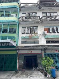 For SaleShophouseEakachai, Bang Bon : For rent/sell office building-warehouse Soi Kamnan Man 10 (Kalapaphruek-Ekachai 38)