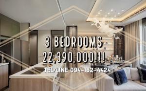ขายคอนโดสาทร นราธิวาส : 💥3 Bedrooms💥 Rhythm เจริญกรุง-พาวิลเลี่ยน 3 Bedrooms RARE ITEM!!! 22.39MB ONLY!! คอนโดหรูใกล้โรงเรียนนานาชาติ วิวแม่น้ำ ย่านเจริญกรุง!!