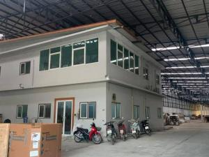 For RentWarehouseNakhon Pathom, Phutthamonthon, Salaya : RKJ047 for rent, factory warehouse, has an office, can apply for a license to operate an industrial business, Ban Luang Subdistrict, Don Tum District, Nakhon Pathom
