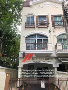 For RentTownhouseRamkhamhaeng, Hua Mak : For Rent** Baan Klang Muang The Paris Rama 9 - Ramkhamhaeng 7 Fully furnished 22,000