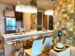 For RentCondoSathorn, Narathiwat : Condo for rent Rhythm Sathon 21 Type 1 bedroom 1 bathroom Size 45 sq.m. Floor 33
