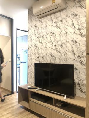 For RentCondoBangna, Lasalle, Bearing : 🌈💥 นิช โมโน สุขุมวิท-แบริ่ง Niche Mono Sukhumvit-Bearing ▶️ 1 Bedroom /  28 Sqm 19th floor