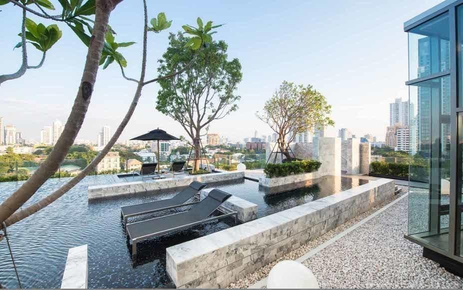 ขายคอนโดสุขุมวิท อโศก ทองหล่อ : Exclusive offer 1B size 44 Very high floor, Panoramic city view, Fully furnished, Nice interior Sell 8.99 MB only (BTS Thonglor)