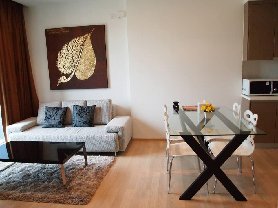 For RentCondoSukhumvit, Asoke, Thonglor : Cheapest rent in Siri @ Sukhumvit, luxury condo, 51 sqm, on a prime location, next to BTS Thonglor.
