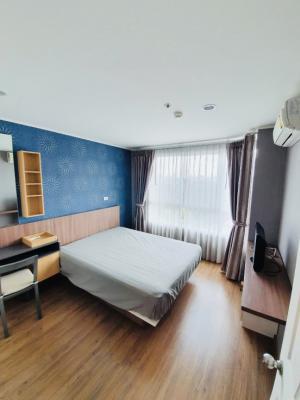 For RentCondoRamkhamhaeng, Hua Mak : Condo for rent, U Delight @ Hua Mak Station, near ABAC, Ramkhamhaeng University ✨ beautiful room, fully furnished Lots of central 🏋️ ♂️🏄 ♀️ 9000 / month only 💥
