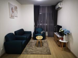 For RentCondoRama9, RCA, Petchaburi : Condo for rent Supalai Veranda Rama 9 Type 2 bedroom 2 bathroom Size 64.5 sq.m. Floor 6