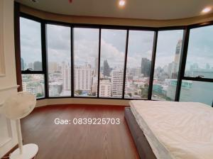For RentCondoAri,Anusaowaree : Condo for rent, Ideo Q Victory, the largest room, price 35,000, divine view in the monument area. Make an appointment to see the actual room every day.
