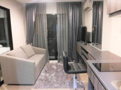 เช่าคอนโดบางนา แบริ่ง : 6/4ให้เช่าด่วน ราคาถูก Villa Lasalle (วิลล่า ลาซาล) ราคา 8,000 บาท ขนาด 26 ตรม.ห้องนอน 1 ชั้น 6 ตึก B วิว เมือง ไม่โดนตึกบัง รับลมได้ดี