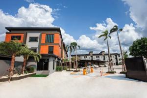 ขายขายเซ้งกิจการ (โรงแรม หอพัก อพาร์ตเมนต์)บางนา แบริ่ง : อพาร์ทเม้นท์สไตล์รีสอร์ท ย่าน ABAC บางนา, ใกล้บางนาตราด เนื้อที่ 2-2-44 ไร่ จำนวน 105 ห้อง แต่งสวย ราคาพิเศษ!!
