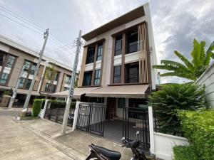 For RentTownhouseThaphra, Wutthakat : House for rent in the city center, Kanlapaphruek, behind the corner, next to homepro, Thonburi court