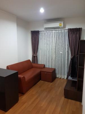 For RentCondoRama9, RCA, Petchaburi : Condo for rent Lumpini Park Rama9-Ratchada 30 sq m, fully furnished, near MRT
