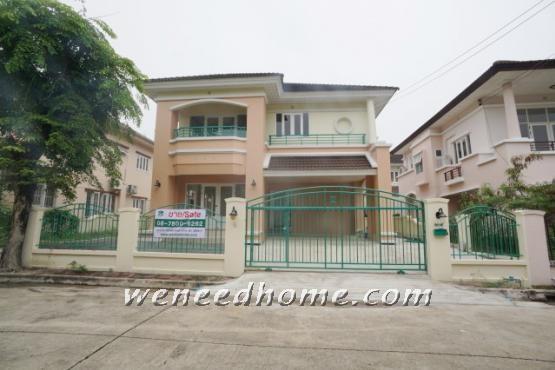 For SaleHouseRama5, Ratchapruek, Bangkruai : House for sale, Laddarom, Pinklao, 81 Sq., Next to Kanchanaphisek Rd., Near Bang Yai MRT