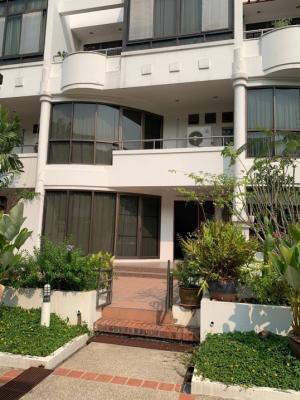 For RentTownhouseRama3 (Riverside),Satupadit : 4-storey townhome for rent in Soi Nonsi, Rama 3.