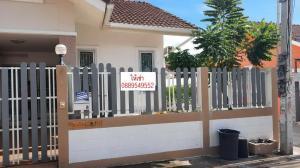 เช่าทาวน์เฮ้าส์/ทาวน์โฮมพัทยา บางแสน ชลบุรี : E490 ให้เช่าบ้าน ทาวน์เฮ้าส์ ชั้นเดียว Chokchai  Village 7 ซอยวัดบุญสัมพันธ์ พัทยา