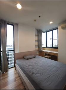 For RentCondoRatchadapisek, Huaikwang, Suttisan : Waiting price, Condo Ideo Ratchada-Huay Kwang, 9th floor, corner room, garden view, next to MRT