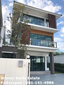ขายทาวน์เฮ้าส์/ทาวน์โฮมลาดพร้าว101 แฮปปี้แลนด์ : ขายบ้าน ใกล้ MRT ลาดพร้าว ศุภาลัย เอสเซ้นส์ ลาดพร้าว 107 หลังมุม เฟอร์ฯ ครบ