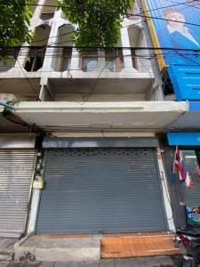 For RentShophouseRama9, RCA, Petchaburi : RPJ184ให้เช่าอาคารพาณิชย์4ชั้น ติดถนนเอกมัย เหมาะทำออฟฟิศและหลายธุรกิจ