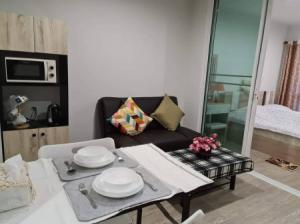 For RentCondoOnnut, Udomsuk : Cheapest on the web, fully furnished, urgent rent, beautiful room, Condo Regent Home Sukhumvit 97-1 29.5 sq m.
