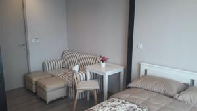 For RentCondoRattanathibet, Sanambinna : Condo for rent politan rive, 39th floor, size 25 sq.m., beautiful decoration, ready to move in