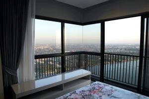 For RentCondoRattanathibet, Sanambinna : Condo for rent, politan rive, 42nd floor, 2 bedrooms, 360 degree river front position, new rooms, never been in.