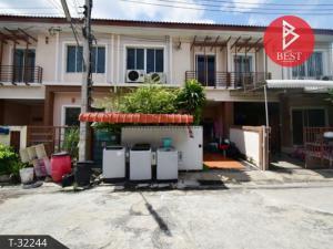 For SaleTownhouseSamrong, Samut Prakan : Townhouse for sale Phanason Villa Phraeksa Village, Samut Prakan