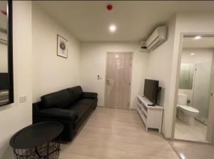 For RentCondoRama9, RCA, Petchaburi : Luxury condo for rent, very cheap, Life Asoke, only 17,000 baht per month, 35 sq.m., 1 bedroom, 1 bathroom, high floor, good view
