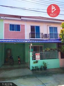 For SaleTownhouseMahachai Samut Sakhon : 2 storey townhouse for sale, CK Ville Rama 2 (CK.Ville), commercial location, Krathum Baen, Samut Sakhon.