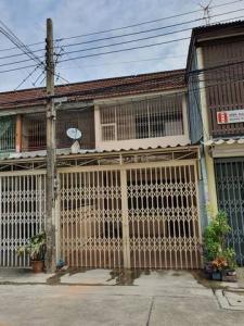 For RentTownhouseOnnut, Udomsuk : Townhouse for rent, 2 floors, Soi Udom Suk 33, near BTS Udom Suk.
