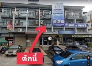 For RentShophouseRangsit, Patumtani : Commercial building for rent, 3 and a half floors, Rangsit Khlong 2, suitable as a trading location, open a shop, open a clinic