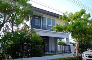เช่าบ้านรังสิต ธรรมศาสตร์ ปทุม : ขายและให้เช่า บ้านเดี่ยว 2 ชั้น มบ. อินิชิโอ2  รังสิต คลอง 3