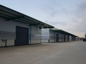 For RentWarehouseLadkrabang, Suwannaphum Airport : Warehouse for rent, 1,125 sq.m., Kanchanaphisek Road, Prawet District, Bangkok, near Suvarnabhumi Airport