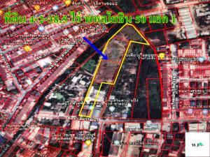 ขายที่ดินนวมินทร์ รามอินทรา : ขายด่วน!! ที่ดิน 4-2-38.5 ไร่ ซอยเสนาวัฒนา ถนนพหลโยธิน 50 แยก1