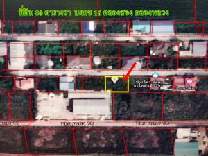 ขายที่ดินรังสิต ธรรมศาสตร์ ปทุม : ขายด่วน!! ที่ดิน 80 ตารางวา ซอยบงกช 16 คลองสอง คลองหลวง