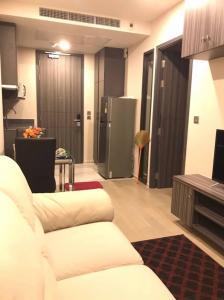 เช่าคอนโดสุขุมวิท อโศก ทองหล่อ : For rent  คอนโด Ashton Asoke พร้อมเฟอร์ ห้องขนาด 31.3 ตรม.วิวเมือง ชั้น 23