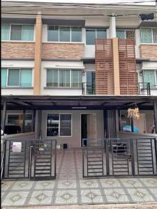 For RentTownhouseKaset Nawamin,Ladplakao : House for rent, townhome, townplus village, Kaset-Nawamin, fully furnished.