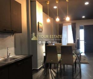 For RentTownhousePattanakan, Srinakarin : Furnished townhome for rent Krungthep Kreetha Soi 7 - Baan Klang Muang The Paris - 3 storey, 3 bedroom ready to move in.