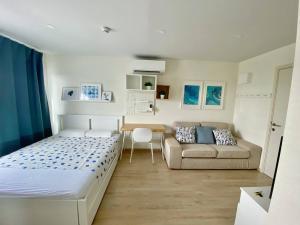 For RentCondoKasetsart, Ratchayothin : Available for rent, beautiful room, cute studio at Elio del moss near Kasetsart University