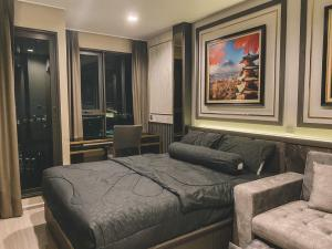 For RentCondoLadprao, Central Ladprao : 📌[Condo for rent] Life Ladprao, large room, 36.67 sqm, cheap price, beautiful decoration, built-in in the whole room Complete with electrical appliances, convenient transportation