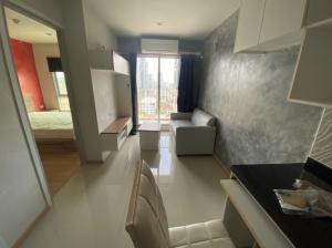 For RentCondoBang Sue, Wong Sawang : Condo for rent, Rich Park, Tao Poon, next to MRT Tao Poon, 14th floor, 1 bedroom, 1 bathroom, 7,000 baht, 0979495559