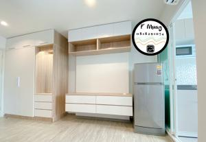 For RentCondoBang Sue, Wong Sawang : Hot‼️ for rent ✅ Built-in partition Fully equipped with a front-loading washing machine #Regent Home Bang Hide 28 ❤️ Rent 7,200 baht