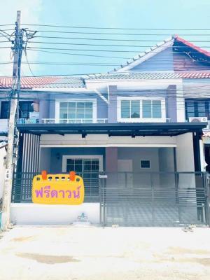 For SaleTownhouseBangbuathong, Sainoi : 🔰 Village Pruksa 3 Soi 128 Soi Wat Lat Pla Duk, Bang Bua Thong, Nonthaburi