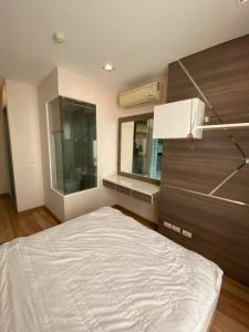 For RentCondoOnnut, Udomsuk : 🔥🔥Hot Deal!🔥🔥 Ideo Blucove Sukhumvit for rent, size 33 sq.m., floor 12A, 1 Bedroom, BTS Udom Suk [Code:A244]