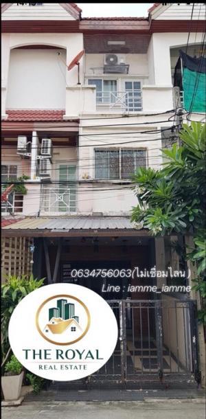 For RentTownhouseKaset Nawamin,Ladplakao : 🌺Town home for rent, cheap price @Kaset Nawamin for rent 14,000/month